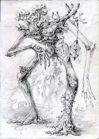 Ent sketch by Lord-JackFrost