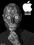 THE REAL Steve Jobs inspired by THEY LIVE by HalHefnerART