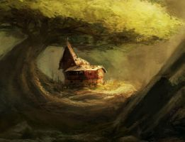 tree house by hungerartist