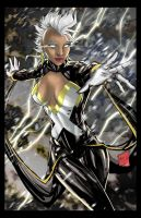 Storm From the Xmen Colors by hanzozuken