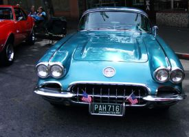 1959 Corvette Front by demenshia
