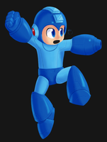 Super Smash Bros. Mega Man by PixelSpriteArt