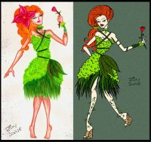 Haute Couture Poison Ivy by rickytherockstar
