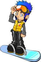 Teh Snowboarder by Guesstimate