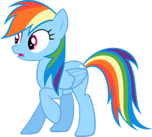 Rainbow Dash Taken Aback by HaveBKYourWay