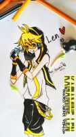 Kagamine Len -Hooded Jacket Ver.- by Miaka-Hyumi