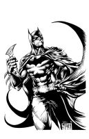 Batman: The Caped Crusader by frogeybeag