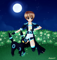 Moonlit Umbreon by dathie