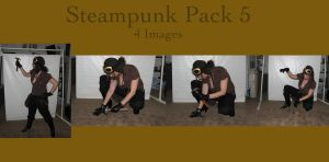 Steampunk Pack 5 by HiddenYume-stock