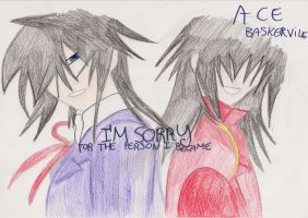 Ace Baskerville ( is he the true enemy? ) by SarahShirabuki8000