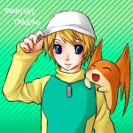 Digimon - Takeru and Patamon by Hideyo