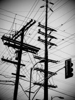 Powerlines by trashedinla