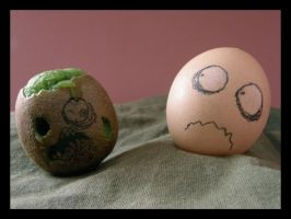 Living dead egg. by one-slip
