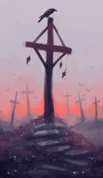 cemetery by Gidrologium
