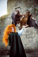 Merida, free spirit THE SEA EAGLE IS REAL!!! by shua-cosplay