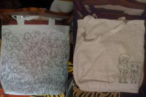 my new tote bag by sozine2