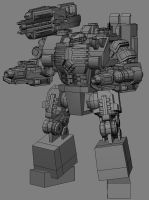 WIP - Golaith MKII by MikeTehFox