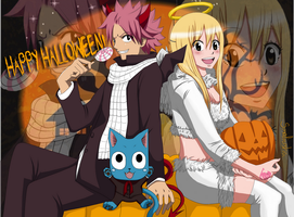 NaLu Halloween! by smaliorsha