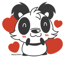 Lovely Panda by Daieny