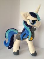 Shining Armor MLP  Friendship is Magic plush by valio99999