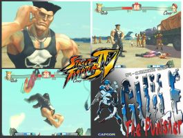 SF4 : Guile - Punisher by 70R4N