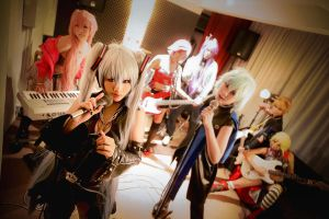 Hagane Vocaloid: Peace Out by Astellecia