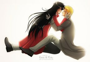 Commission: Alucard and Alexander Anderson by galia-and-kitty