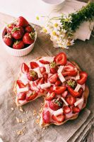 Strawberries cake by FiorOf