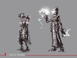Z-TECH WARS 06 by QuinteroART