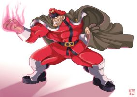 Marvel v.s. Capcom 2 - M. Bison / Vega by Shadaloo1989