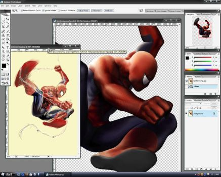 Spidey Swing WIP by guisadong-gulay