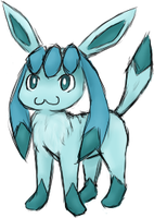 Glaceon by Katerwal
