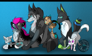 Bunch Up~ by BipolarWolfy