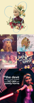 Rapunzel and Elsa Edits by letterbyowl