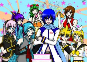 Happy Birthday Kaito by animerocks4