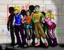 Persia and Theos Kids full by Israel42