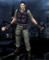 Chris Redfield(Rockford Gear) Resident Evil HD by XKamsonX