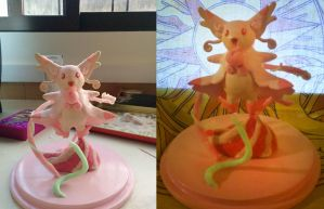 Custom Mega Audino Sculpt by fulongwu