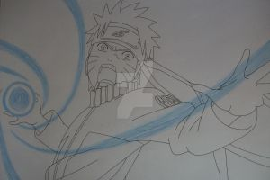 ''This one will finish it!'' Naruto Uzumaki by SakakiTheMastermind