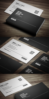 Simple Corporate Business Card by FlowPixel
