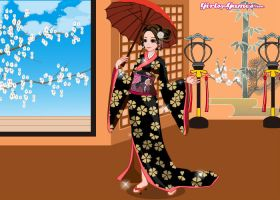 Kimono girl Adopt FREE (CLOSED) by blackshuck5adopts
