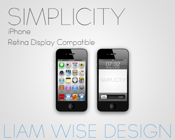 iPhone Wallpaper: Simplicity by LiamWise