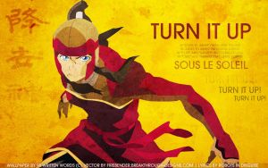 Legend of Korra Wallpaper: Turn it Up by tea-junkyard