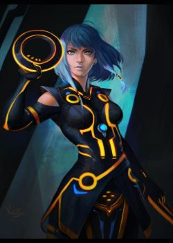 Tron by NerinFox