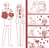 OP Valentines day 1 by Nire-chan