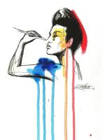 Drips and colours by EnTrang