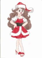 Mrs Santa Claus by animequeen20012003
