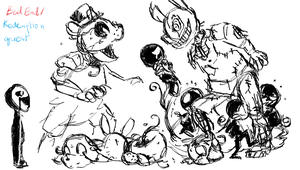 FNAF 3: Bad End/Limbo Quest by Winged-Dragoness