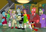 Futurama and Chavo del 8 by edwheeler