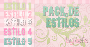 Estilos Pack 5 By isfe by Isfe
